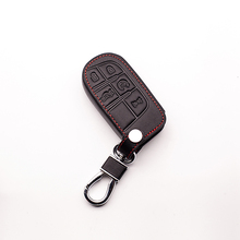 for Jeep Grand Cherokee Compass Liberty Commander Renegade Flip Remote Keyboard cover 5 button key dust collector Car wallet