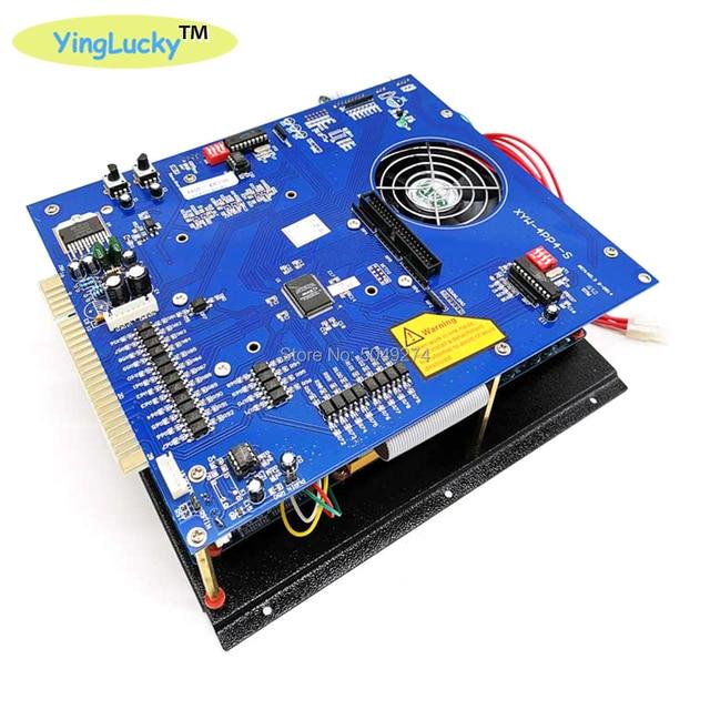 Yinglucky juego Arcade King, multijuego jamma clásico, consola PCB, placa base 3106 en 1 con fuente de alimentación ATX