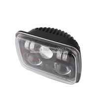2pcs/lot Car accessories Dragon version headlights 88W 7inch Square offroad led work lamp For Car
