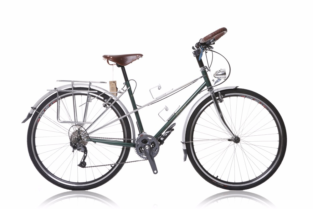 700C Road Bike Travel Bike Reynolds Frame / Front Fork 27 Speed Bike Retro Bicycle
