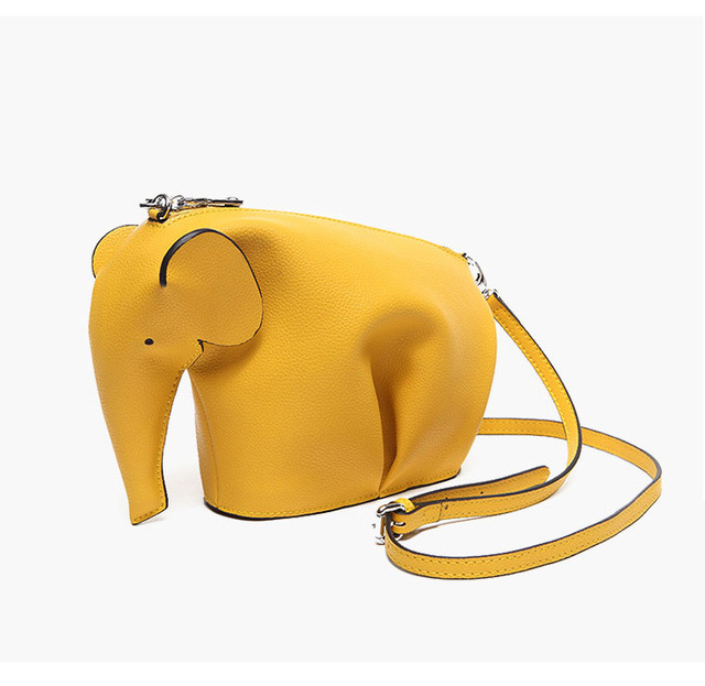 JudyFashion 2017 TOP Fashion Cute Animal Bag Women Real Leather/Genuine Leather  Bag Women purses Lady Clutch Factory sell Bolas