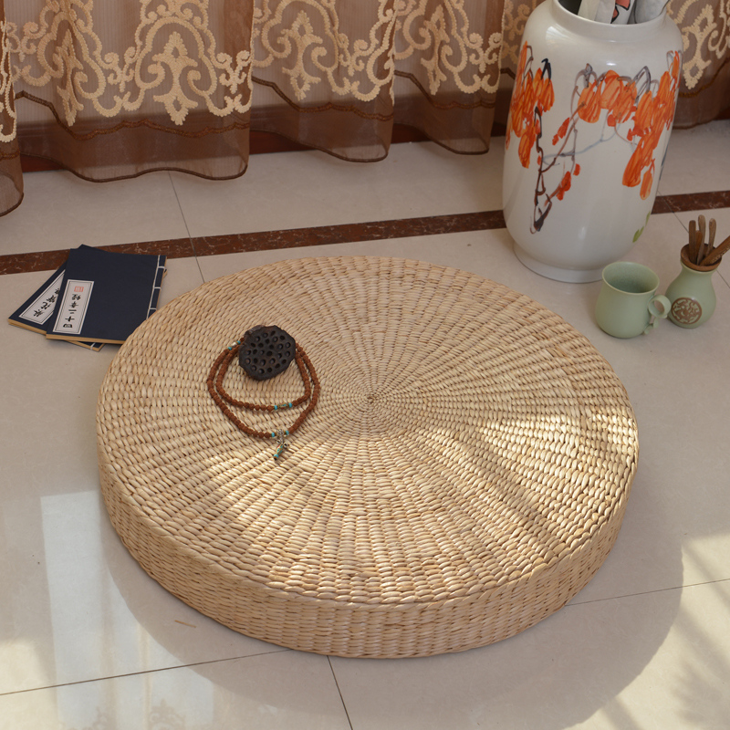 achetez en gros tapis de paille rond en ligne des. Black Bedroom Furniture Sets. Home Design Ideas