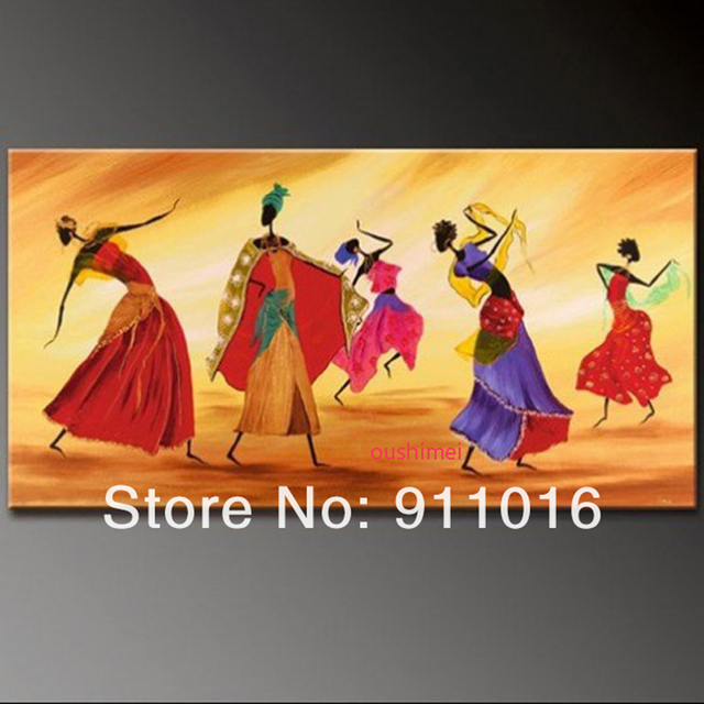 Free Shipping Home Decor Modern Picture Indian Dancer Character For ...