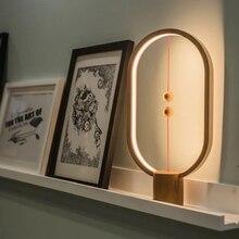 Ins Fashion Smart Balance ночник Магнитный кибер знаменитостей лампа прикроватный светодиодный ночник с USB вилкой