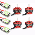 High Quality 4PCS Racerstar Racing Edition 1103 BR1103 10000KV 1-2S Motor With 4PCS RS6A V2 Blheli_S 1-2S ESC D-shot Frame Combo