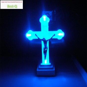 الأوروبي مصباح ضوء الليل تأثيث المنزل الكنيسة الحرم رمز الصليب يسوع المعاناة الحلي هدايا مجوهرات