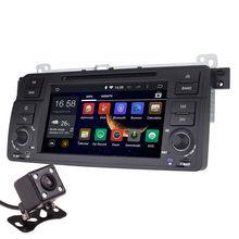 Android 5.1 7 Inch Car Dash DVD Player GPS Navi 3G WIFI Quad Core / DVR / OBD / 1024×600 / Head Unit for BMW E46 1998-2006