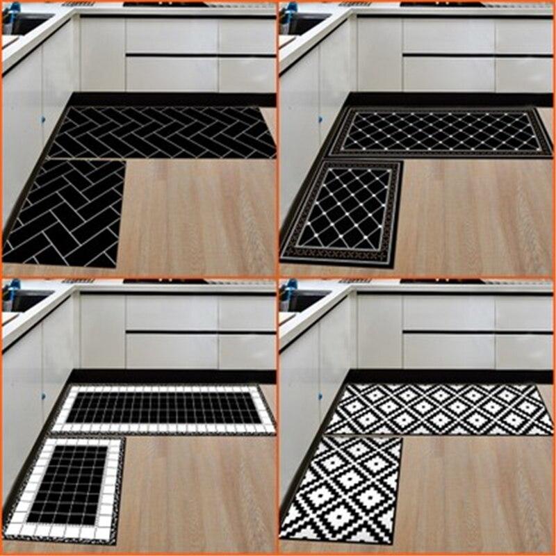 2pcs/set Large Alfombra Mats In Kitchen Bathroom & Kitchen Carpet Bathroom Carpet For Toilet WC Mat Bedroom Rugs For Decoration
