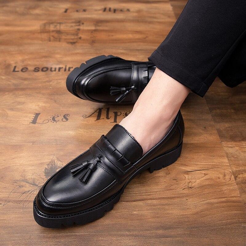 Loafers Couro Lazer Homem L5 De Ao Oxfords Lace Livre Ar Homens Sapatos Vestido Formais Moda Zapatos Black Sapatas up Dos Hombre zgqZw64qT