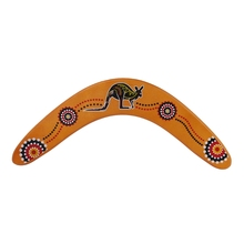 New Kangaroo Throwback V Shaped Boomerang Flying Disc Throw Catch Outdoor Game For Children