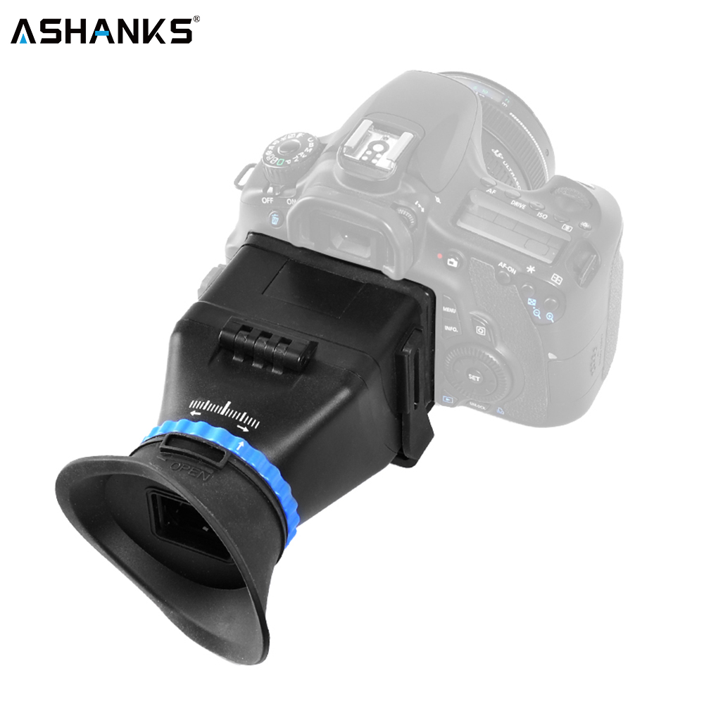 ASHANKS 5D3 5D2 SLR 3 zoll 3,2 zoll flip LCD screen 3 vergrößerung sucher brille für Canon für Nikon kostenloser verschiffen