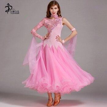 7091e13b44 Salón de baile estándar vestido de baile mujer baile vals vestido de  competencia profesional de baile vestido de baile chino