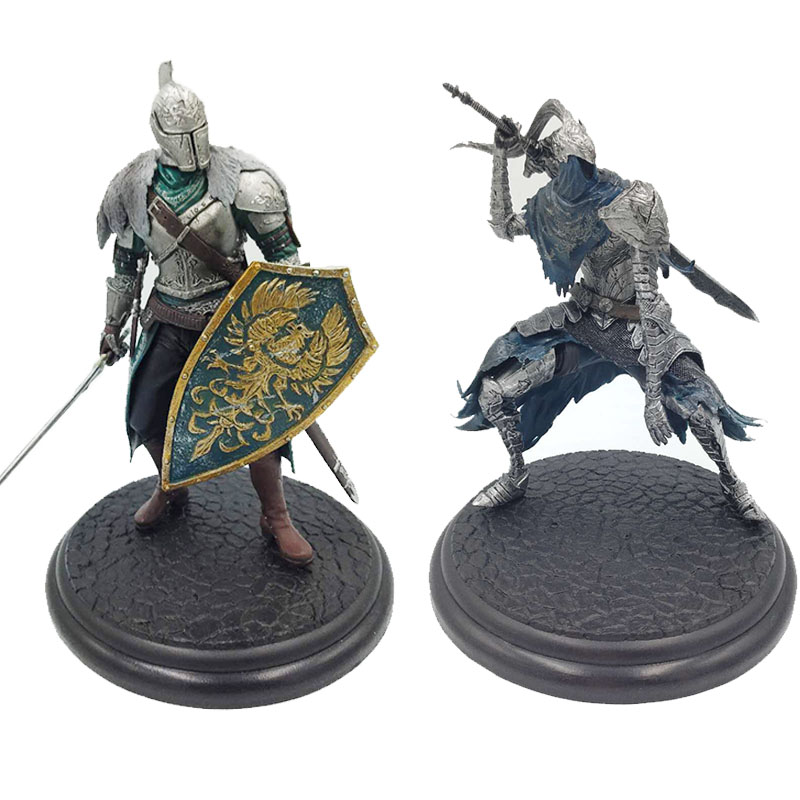 Hot Movie Dark Souls Faraam Knight Artorias Figure Collectible Model The Abysswalker PVC ...