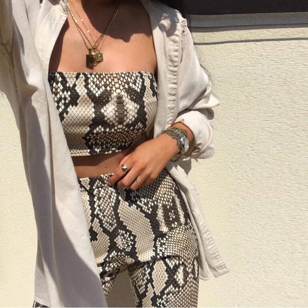 Womens Autumn Casual Shinny Tube Top Shorts Bodycon Two Piece Set Outfits Short Sport Jumpsuit Sets 8