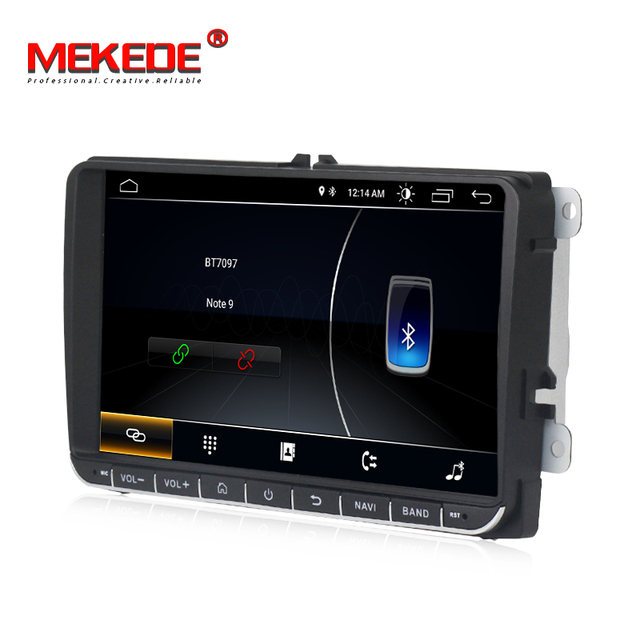 MEKEDE 9inch Touch screen Android8.1 car Audio for  passat b7 b6 golf 5 polo tiguan octavia support GPS navi Ipod BT radio mic