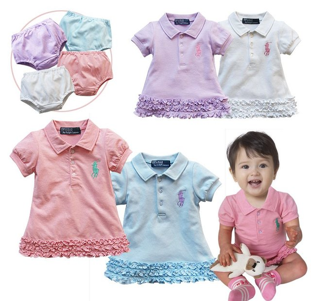 6f8a763dcf95 Wholesale Fashion 2012 Summer Polo Cute Girls Sets Ruffled Mini ...
