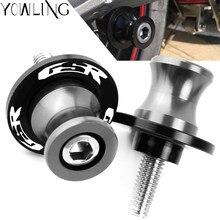 Parafuso para montagem de motocicletas, cnc, alumínio m8, suporte deslizante, para suzuki gsr 750 600 400 gsr400 gsr600 gsr750 8mm