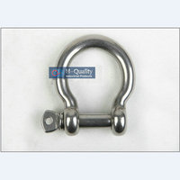 Wholesale High Tensile Marine Rigging Hardware M20 Bow Type Stainless Steel Screw Pin Anchor Shackles