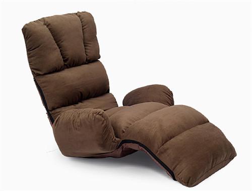 Sillón tapizado de Asientos Suelo 4 Colores Plegable Moderna Sofá Perezoso Silla Dormir Diván Chaise Lounge