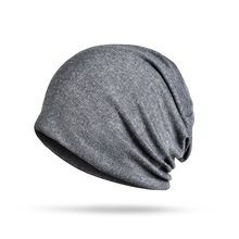 цены на Cool Unisex Cotton Beanies Spring Autumn Winter Thin Caps Men Women Solid Color Cotton Warm Thin Cap Male Female Skullies Hats  в интернет-магазинах