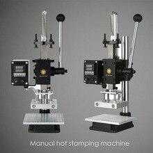 Multi-function digital display hot stamping machine, printing machine wallet pressure label branding machine