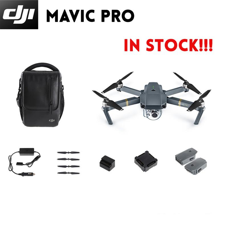Prix pour EN STOCK! dji mavic pro pliant fpv drone rc quadcopter avec 4 k hd caméra, construit en OcuSync Live View GPS et Glonass Système