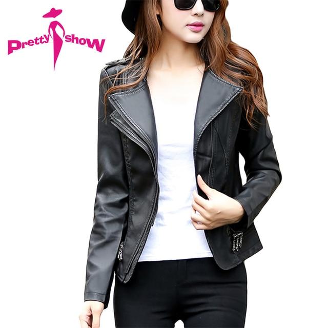 Aliexpress.com : Buy New 2016 Autumn Soft Leather Jacket Women