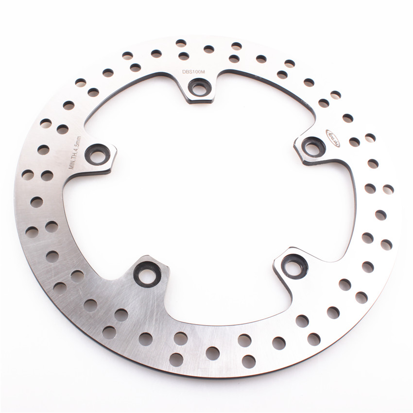 Rear Brake Disc Rotor For BMW F650GS 650 2008-2012 F650GS ABS 650 2008-2011 F700GS 700 2013-2015 Moto Accessories stainless steel rear brake disc rotor for bmw g 650 x moto 650 2007 motorcycle disk spare parts accessories