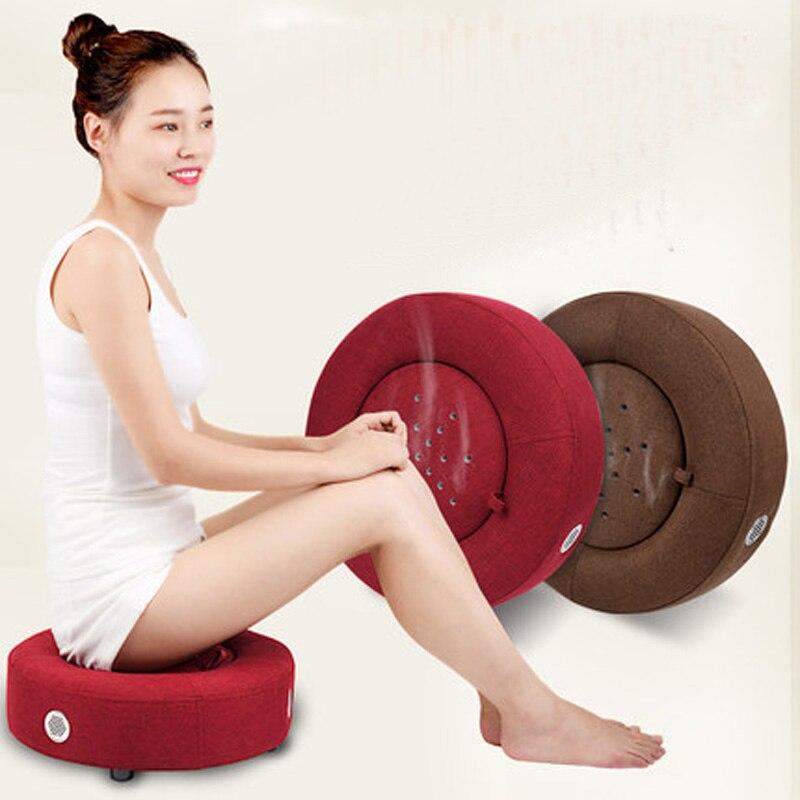 Household health moxibustion cushion instrument fumigation moxibustion basin futon wood available moxibustion section