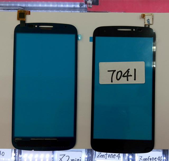 For One Touch Pop C7 7041 Screen Panel Digital Replacement Parts Alcatel OT 7041X 50 Inch Smartphone Free Shipping