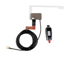 Автомобиль dab + Радио тюнер stick usb dongle тюнер/Box USB цифровой Аудио вещания приемник включают Телевизионные антенны работает для европа