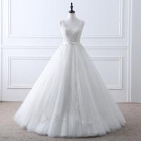 Sexy See Through Romantic Vintage Lace Wedding Dress Elegant Bride Dresses QY 1118