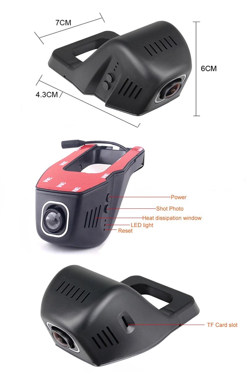 HD NIGHT VISION WIFI DVR BLACKBOX CAR VIDEO RECORDER CAMERA RECORDER CARCAM 1080P 96658 NOVATEK DUAL CAMERA DUAL LENS (5)