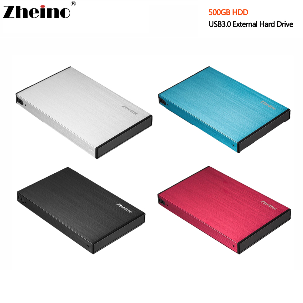 New 2.5 inch Aluminum shell USB3.0 500GB HDD External Hard Drive 5400RPM 16MB Cache Portable Hard Disk Drive For Desktop Laptop лопата снеговая алюминиевая 3 х бортная с черенком 460х350х1400 мм