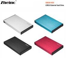 НОВЫЙ 2,5 дюймов Алюминий основа USB3.0 500 ГБ HDD внешний жесткий диск 5400 об./мин. 16 МБ Кэш Портативный жесткий диск диск для настольных ноутбука