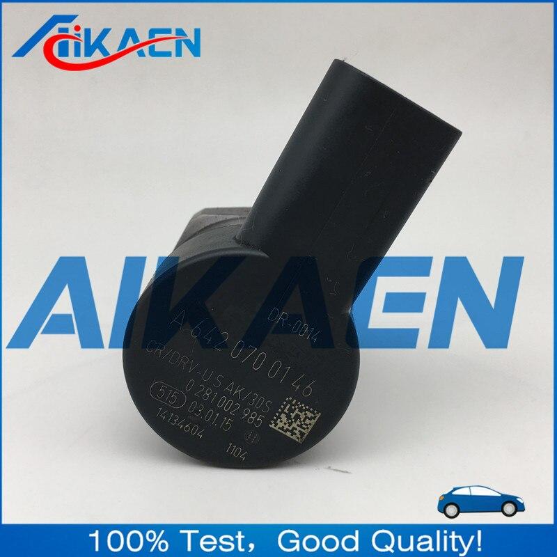 0281002985 Regulador de Pressão Regulador de Pressão de Combustível Diesel Common Rail DRV A6420700146 APTO PARA MB-C-CLASS W204 A6420703395
