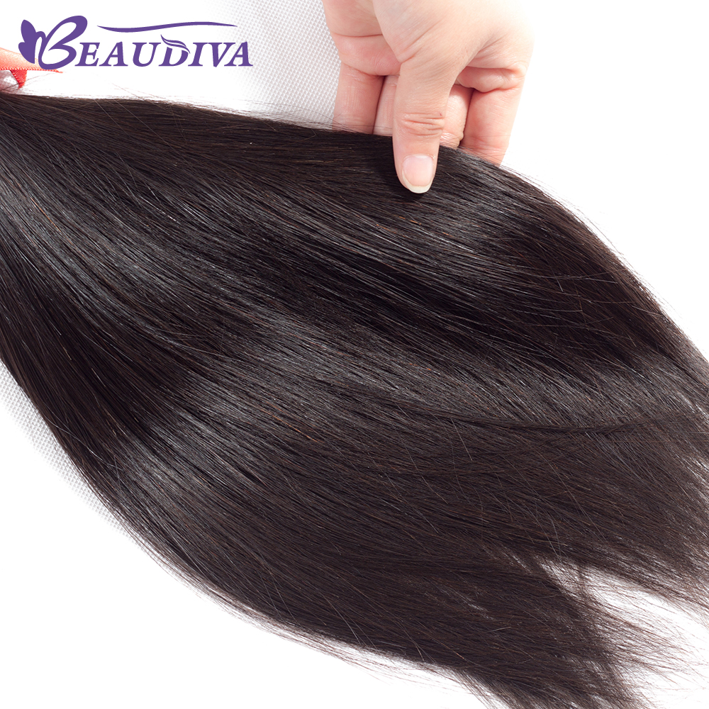 IMG_4251   Beaudiva Malaysian Straight Hair Bundles With Closure three Bundles With Closure 100% Straight Human Hair Bundles With Closure HTB1jSYFqVuWBuNjSszbq6AS7FXaE