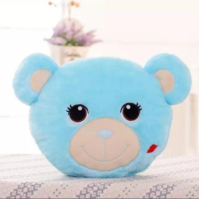 Luminous Bear Face Soft Plush Stuffed Toy