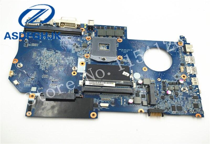Carte mère d'ordinateur portable 6-71-x5100-d03a pour Raytheon pour Hasee pour CLEVO P150hm carte mère DDR3L Non intégrée 100% Test ok