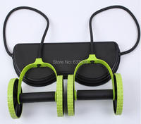 Free Shipping Men Woman Fitness Abdominal Trainer Revoflex Xtreme ABS workout Kit Resistance Bands Exercise Multifunction Crossf