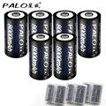 6 unids neutral palo d tamaño de la batería recargable de ni-mh 1.2 v 8000 mah batería recargable batería baterias bateria envío libre
