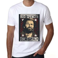 Mens Tee The Old School Fighters Bud Spencer Design T Shirt Und Terence Hill Men S