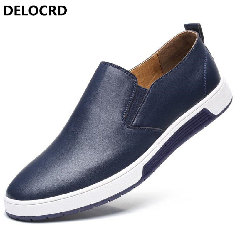 Fashionable Leather Mens Shoes Spring Summer New Leather Shoes Dress Mens Casual Shoes Mens Large Size 48 Yards Leather Shoes