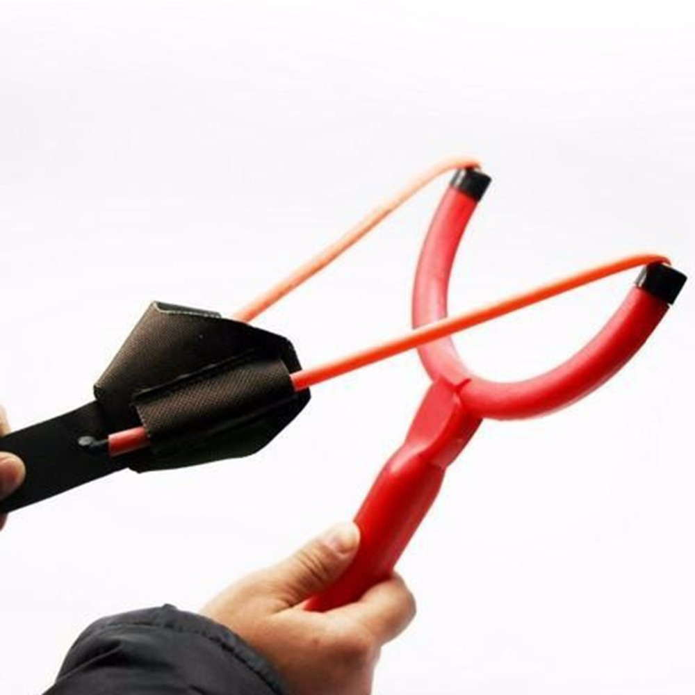 2Pcs Slingshot Shot Fishing Bait Thrower ABS Plastic Coarse Fishing Tool Accessories Catapult Slingshot Fishing Bait Thrower #84