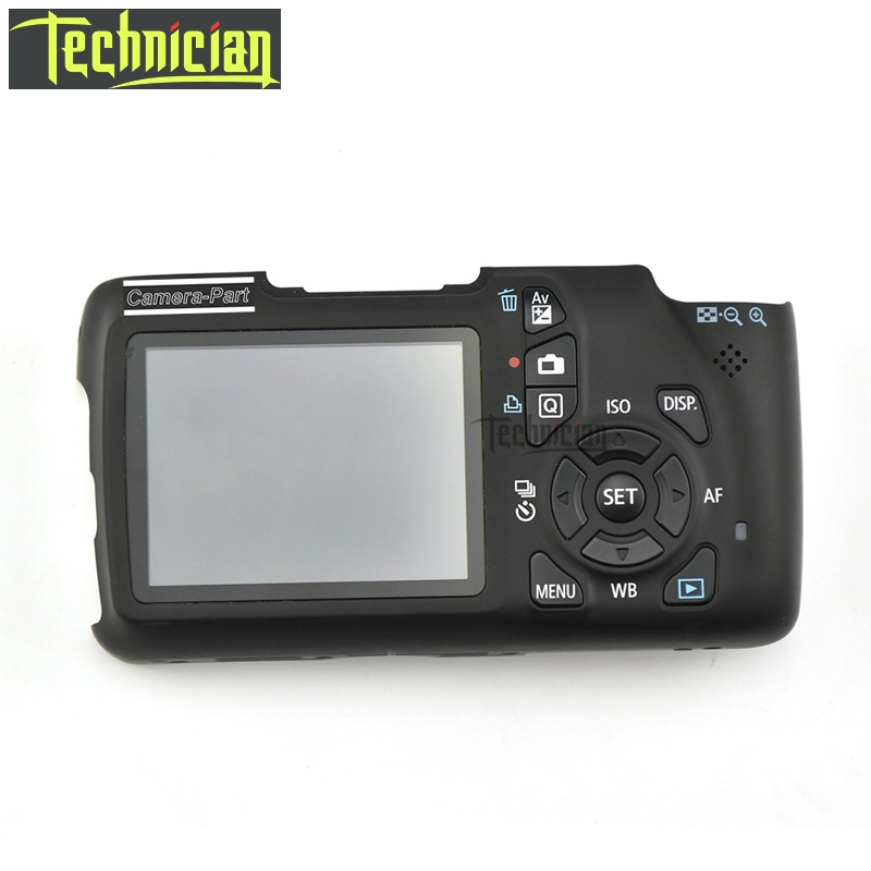 1100D couverture arrière avec LCD et bouton Flex câble caméra pièces de rechange pour Canon