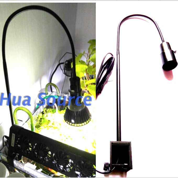 Lengthen DIY E27 lamp holder led aquarium clamp Fish Tank Clip grow light clamp coral light stand