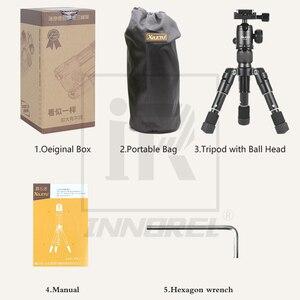 Image 4 - Xiletu FM5 MINI Multifunctional Tabletop Tripod Desktop Aluminum Portable Compact Bracket Ball Head Clip For Camera Cellphone