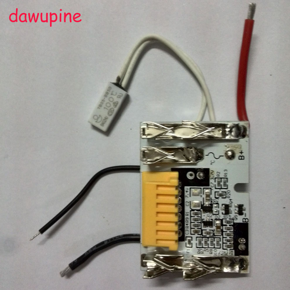 dawupine Lithium-Ion Battery PCB Board Circuit Board For Makita 18V 3Ah 6Ah BL1830 BL1815 BL1845 BL1860 BL1850 194205-3 LXT400 new replacement for makita 18v bl1830 rechargeable power tool battery lithium ion 3000mah with pcb circuit board lxt400 194205 3