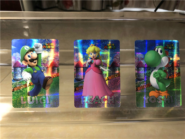 12pcs/set Mario Toys Hobbies Hobby Collectibles Game Collection Anime Cards