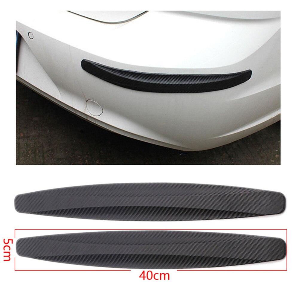 2/4Pcs 40X5 Cm Auto Bumper Protector Corner Guard Anti-Kras Strips Sticker Bescherming Lichaam protector Lijstwerk Volant Chin